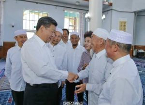 china presiden xi in masjid 2