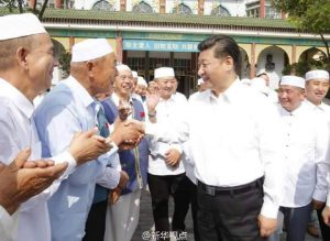 china presiden xi in masjid 3