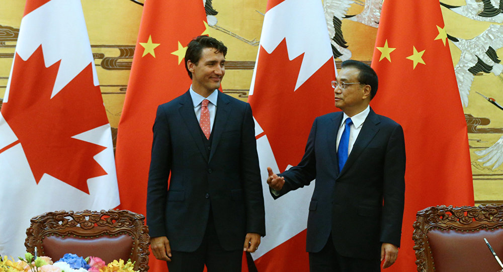 Premier Li Says China Canada Begin Exploratory Talks On Free Trade
