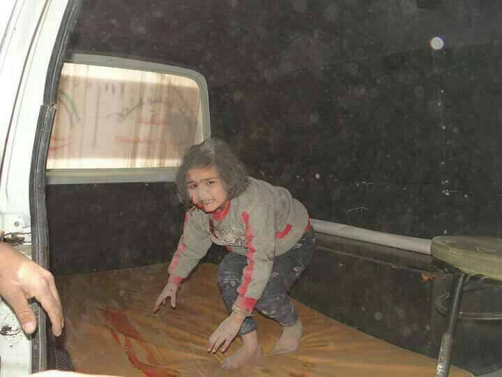 Syria Children are victims in Eastern Ghouta